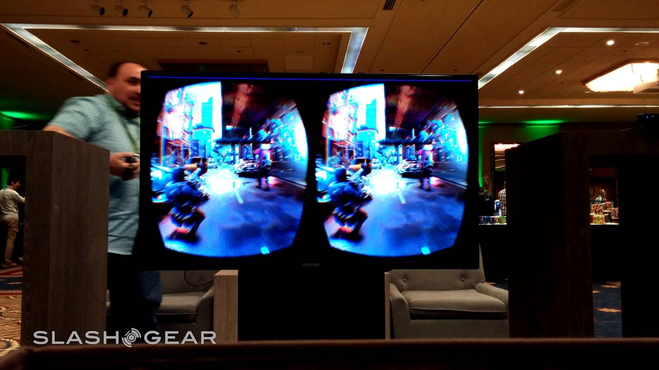 Oculus Rift Unreal Engine 4 VR demo