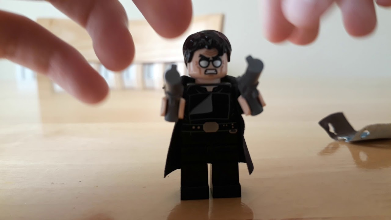 How To Make A Simple Lego Trench Coat, Lego Minifigure Scale Trench Coat