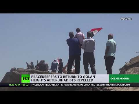 UN peacekeepers to return to Golan Heights after jihadists repelled