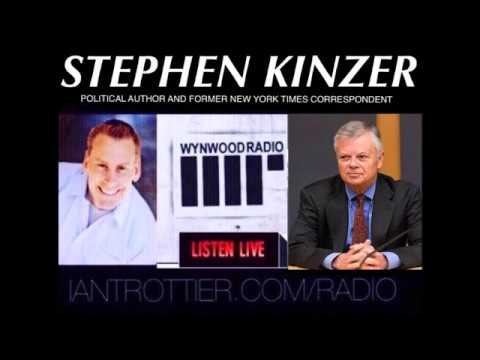 Former NY Times correspondent and author, Stephen Kinzer addresses his work: The True Flag
