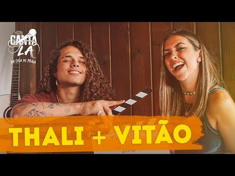 Bastidores Vitão  Canta Lá Na Casa De Praia  Thalita Meneghim  Música Multishow