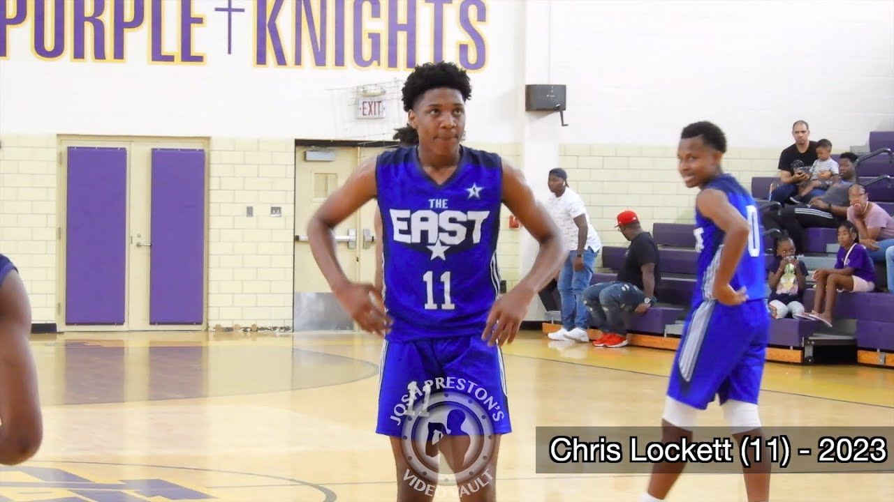 East vs  West All-Star Game (Class of 2023) - Chris Lockett poised to be  BIG TIME prospect