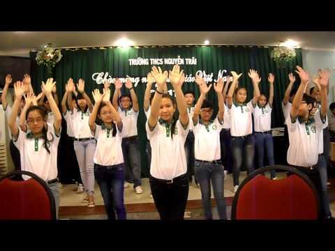 [Múa Dân Vũ] Shalala - 8A10 Trường THCS Nguyễn Trãi (Văn nghệ 20-11)