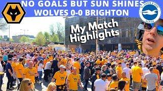 ATTACK v DEFENCE ☀️ Wolves 0 0 Brighton 👀 Match Day Vlog