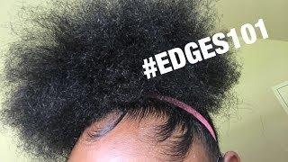 HIGH PUFF + EDGES TUTORIAL | 4C HAIR