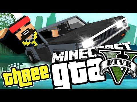WE RIDIN' DIRTY! in the Minecraft GTA 5 MOD!