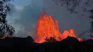 Incredible Volcano video package from Kilauea eruption 2018