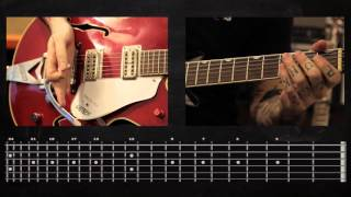 Sasha Rock'n'Roll guitar lessons- Dead Kennedys (Holiday In Cambodia) видео урок №1 tutorial