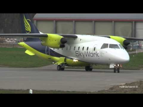 Skywork Airlines first flight to London City!