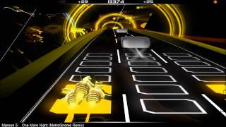 Audiosurf: Maroon 5 - One More Night (MetroGnome Remix)