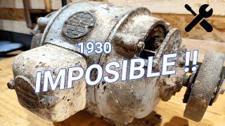 Старый электродвигатель 1930 г. (ВОССТАНОВЛЕНИЕ СТАРЫХ ИНСТРУМЕНТОВ)