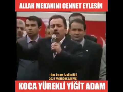 Muhsin Yazıcıoğlu'nun efsane konuşması...