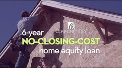 Get a 6 Year No-Closing-Cost Home Equity Loan