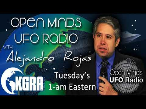 Open Minds UFO Radio - Richard Beckwith, Wyoming's UFO Hunting Lawyer
