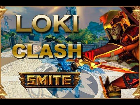 SMITE! Loki, Dale gas... dale gas! Clash #22