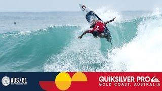 Round One, Heat 2 Recap - Quiksilver Pro Gold Coast 2017