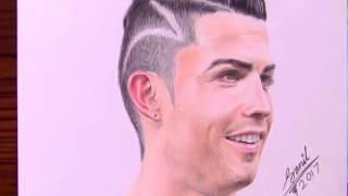 VẼ THẦN TƯỢNG  Cristiano Ronaldo 3D