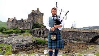Scotland Part 4 - Isle of Skye, Eilean Donan Castle, Armadale Castle