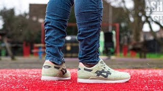 freír Favor Pacífico  Review + On Feet   END x Asics Gel Lyte iii   Wasabi   Ash Bash - YouTube