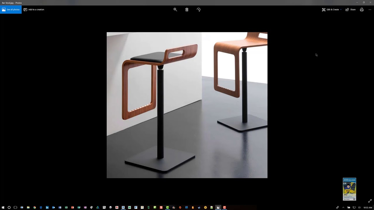 How To Build A Revit Bar Stool Family