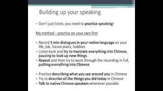 How to learn Chinese fast - my best way