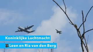 Koninklijke Luchtmacht boven Dordrecht voor TV-Serie