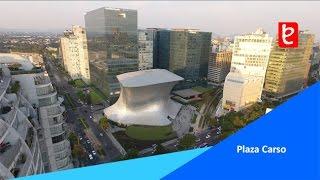Vista de Plaza Carso (Nuevo Polanco) CDMX   www.edemx.com