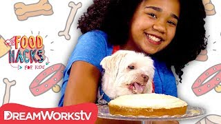 Dog Treats YOU Can Eat! | FOOD HACKS FOR KIDS