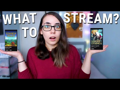 WHAT GAME SHOULD I STREAM? - How To Stream Less Saturated Games On Twitch