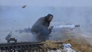 Жесткий бой ополченцы наступает на Пески 26 01 Донецк War in Ukraine