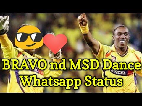 DJ Bravo whatsapp status | CSK vs MI match ipl 2018
