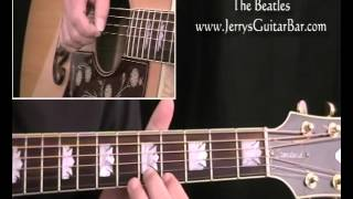 How To Play Strawberry Fields Forever on Acoustic (preview only)