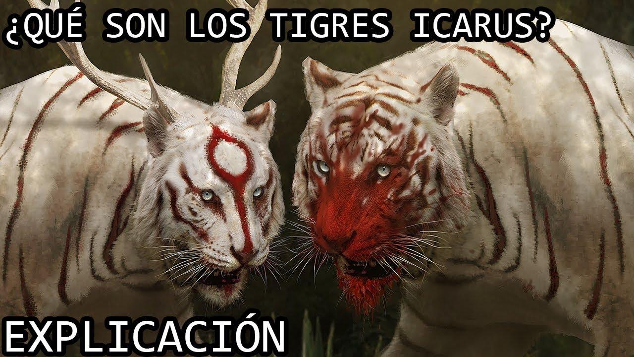 ¿Qué son los Tigres Sagrados?| Los Tigres Icarus (Tigres Kaiju Misticos) del Monsterverse EXPLICADOS