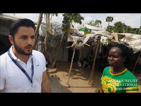 Visiting a camp for internally displaced families in Juba, South Sudan - March 2017