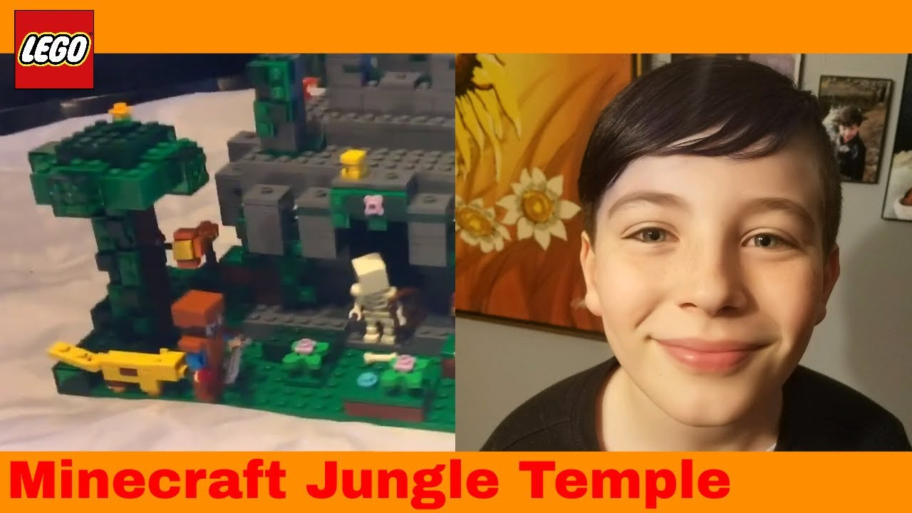 Lego Minecraft The Jungle Temple 21132 Gavyn Reviews Youtube