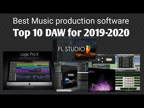 Best Daws 2020 Top 10 Music Production Software ( 2019 2020 ) Best DAW   YouTube