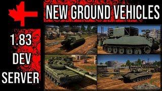 War Thunder Dev Server - Update 1.83 - New Ground Vehicles