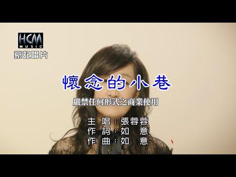 張蓉蓉-懷念的小巷【KTV導唱字幕】1080p