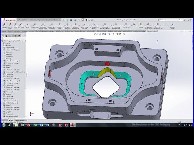 SolidCAM 2016 - Geometrie modifizieren