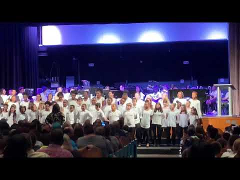 "Manning Primary School performs ""Great Big House""  by American Folk Song"