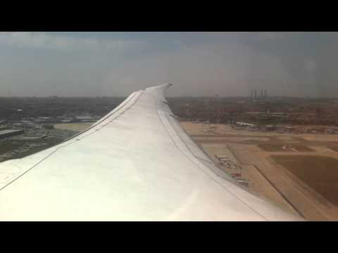 Historical First Flight B787 Air Europa MAD-MIA 13042015 (Take off)