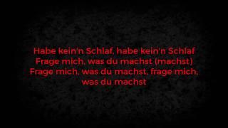 Nimo - KEIN SCHLAF feat. Hava (LYRICS) | Lyricemiker