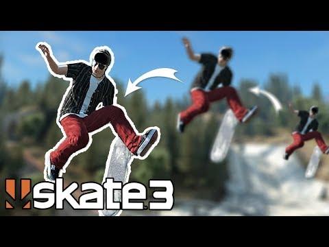 Skate 3: DOUBLE BRIDGE GAP CHALLENGE!?
