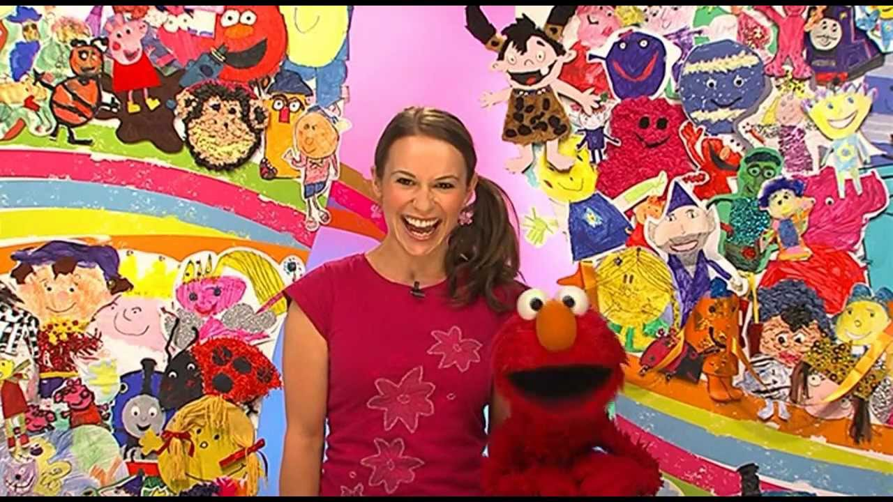 Channel 5 Caveman Show : Elmo at milkshake the clapping song youtube