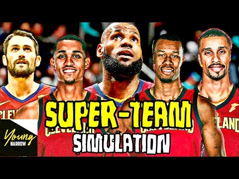 WHAT WILL THE CAVS ACCOMPLISH IN THE NEXT 5 YEARS?!? SUPER TEAM SIMULATION ON NBA 2K18!!!