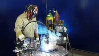 Обзор горелки MA 400 SpinArc для автоматической сварки вращающейся дугой