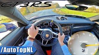Porsche 911 GT3 RS 991 POV Test Drive by AutoTopNL