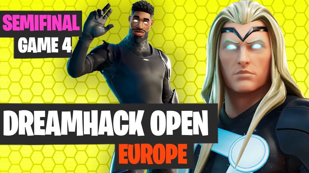 Fortnite DreamHack OPEN EUROPE Semifinal Game 4 Highlights