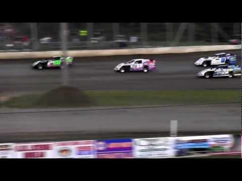 USMTS @ Deer Creek Speedway Hunt Race #13 Heat #5   9-1-2012.MTS