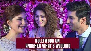 Bollywood Wishes Anushka Virat on their wedding